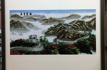Paintings - Chinese Silk